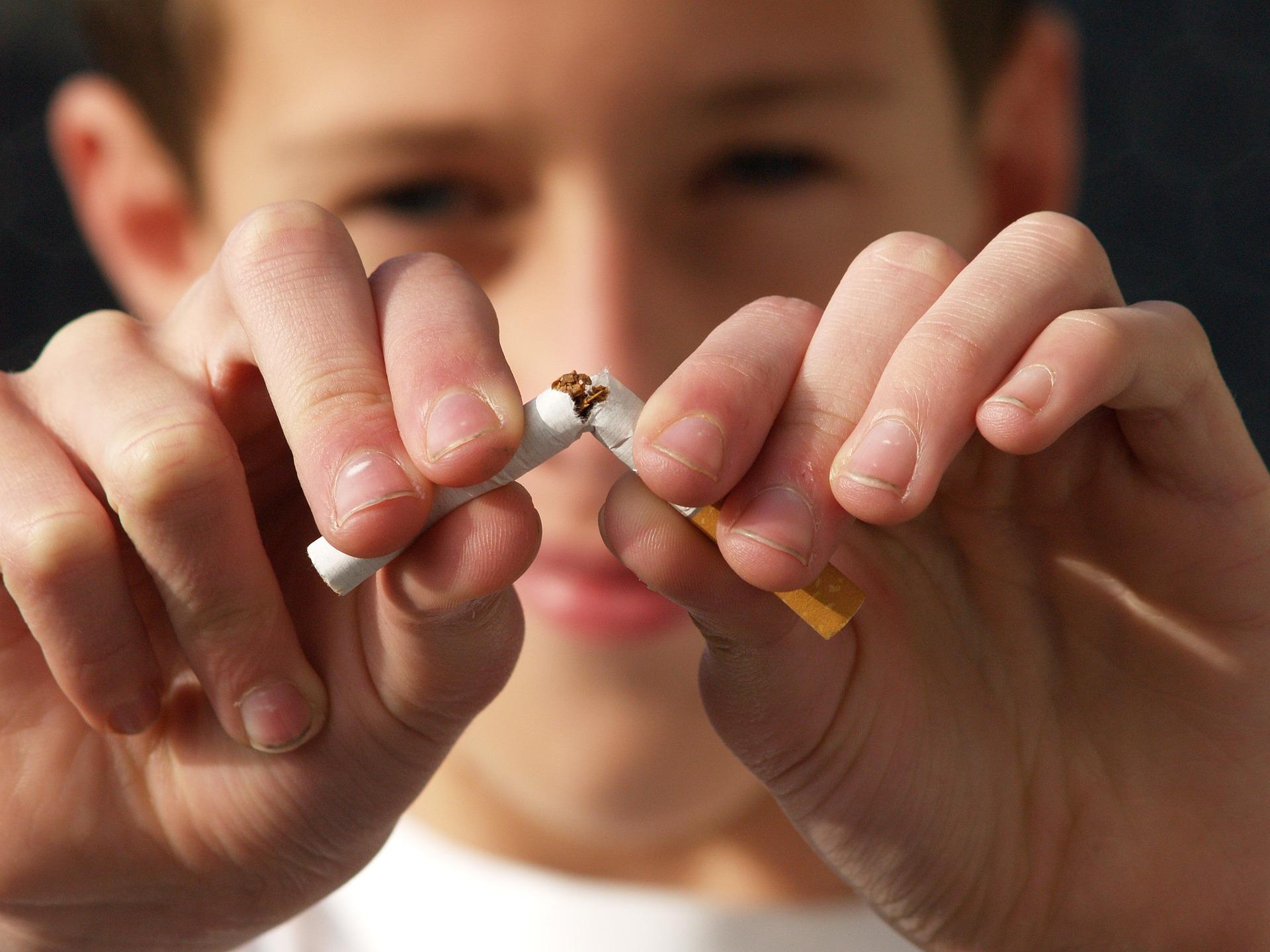 tabagismo e pigarro